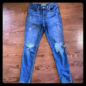 Levi's 721 high rise skinny jeans size 29